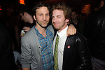Actor, Seth Green, celebrates his birthday with good friend, Breckin Meyer, actor, at Blush Nightclub in Las Vegas, NV on March 6, 2010 © Al Powers / RETNA ltd
