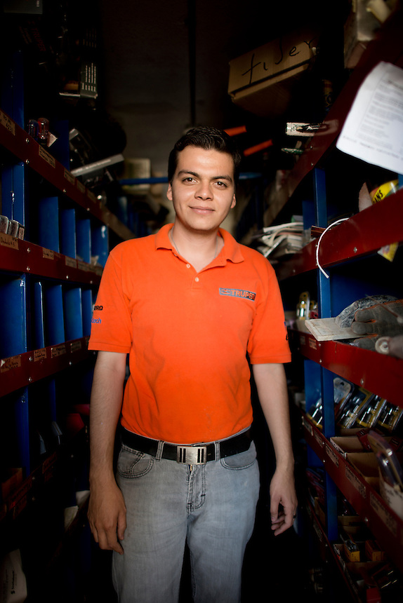 Jorge Luis Beltran Vargas. Hardware store owners in Culiacan, Sinaloa,  Mexico