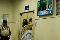 RIO DE JANEIRO,RJ, 16.01.2019 - CAIO JUNQUEIRA-RJ - O ator Caio Junqueira se envolveu em um grave acidente próximo do Monumento dos Pracinhas, no Aterro do Flamengo. Familiares do ator foram visto junto com sua mãe Maria Inez no Hospital Municipal Miguel Couto, na tarde desta quarta-feira, Leblon, zona sul do Rio de Janeiro (Foto: Vanessa Ataliba/Brazil Photo Press)