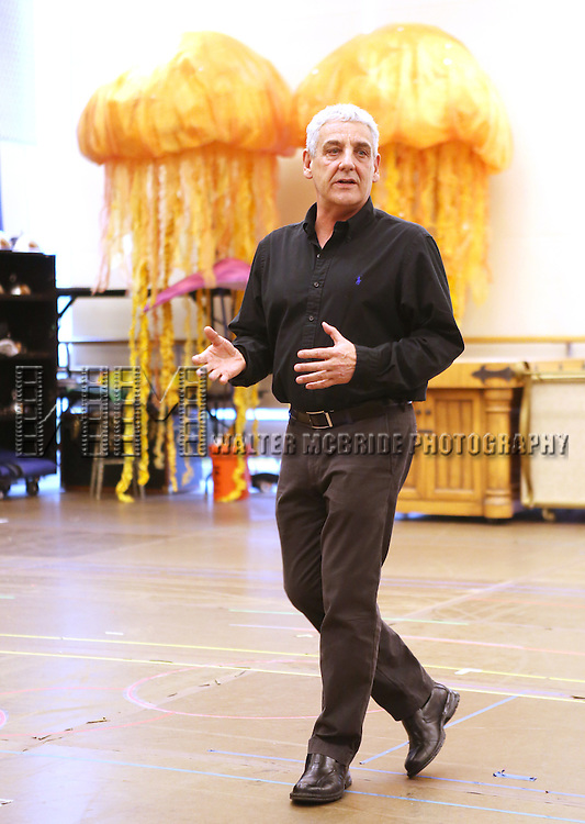 Director Glenn Casale  performing at  the In-Studio Press Preview for the Paper Mill Playhouse Production of Disney's 'The Little Mermaid' at the New 42nd Street Studios in New York City on 5/9/2013..