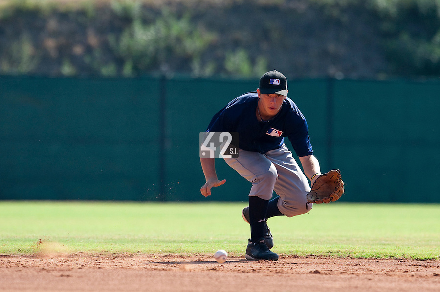 Baseball - MLB Academy - Tirrenia (Italy) - 19/08/2009 - Matej Sucha (Czech Republic)
