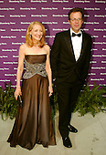 Actress Patricia Clarkson and Thomas McCarty arrive at the Embassy of the Republic of Macedonia in Washington, D.C. for the Bloomberg News party following the annual White House Correspondents Association (WHCA) dinner on April 29, 2006..Credit: Ron Sachs / CNP.(RESTRICTION: NO New York or New Jersey Newspapers or newspapers within a 75 mile radius of New York City)