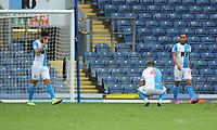 Blackburn Rovers' Bradley Johnson looks dejected after Huddersfield Town equalise<br /> <br /> Photographer Kevin Barnes/CameraSport<br /> <br /> The EFL Sky Bet Championship - Blackburn Rovers v Huddersfield Town - Saturday 19th October 2019 - Ewood Park - Blackburn<br /> <br /> World Copyright © 2019 CameraSport. All rights reserved. 43 Linden Ave. Countesthorpe. Leicester. England. LE8 5PG - Tel: +44 (0) 116 277 4147 - admin@camerasport.com - www.camerasport.com