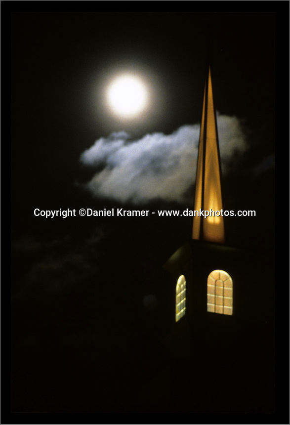 Church Steeple in Sturgis, South Dakota