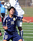 Detroit Country Day vs Hudsonville Unity Christian at Troy Athens, Varsity Soccer, 11/5/11