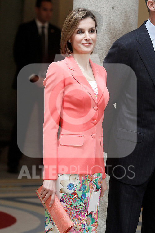 Queen of Spain Letizia during the commemoration of the bicentennial of the Delegation of the Greatness of Spain. June 16,2015. (ALTERPHOTOS/Acero)