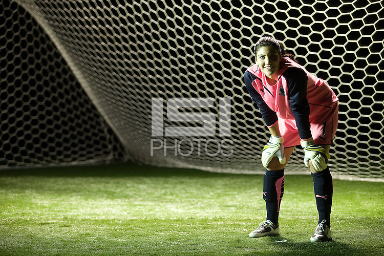 Hope Solo, WPS promotional video photo shoot.