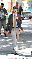 May 31 , 2012: Billy Crudup on the set of Blood Ties in New York City. © mpi15/MediaPunch Inc.