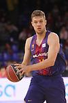 League ACB-ENDESA 2017/2018 - Game: 20.<br /> FC Barcelona Lassa vs Retabet Bilbao Basket: 90-58.<br /> Sasha Vezenkov.