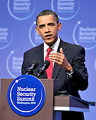 United States President Barack Obama conducts a press conference following the Nuclear Security Summit at the Washington Convention Center in Washington, D.C. on Tuesday, April 13, 2010.Credit: Ron Sachs / CNP