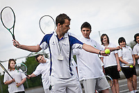 Sport/PE - tennis.??Date taken: 17 May 2010??Location:.Altwood CofE Business & Enterprise College.Maidenhead.Berks.SL6 4PU..Contact:  Paul Milligan, Business Manager.01628 622236.??Commissioned by:  cleverbox?Katie Knight ?cleverbox .33 London Road.Bromley  Kent  BR1 1DG..t. 0208 466 7222.f. 0208 466 1777.w. www.cleverbox.co.uk?Katie Knight katie@cleverbox.co.uk