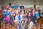 9567-9572 - EOT.NIFTY FIFTY: Sean Harris, St Brendan's Pk, Tralee (seated centre) had a massive 50th birthday party last Saturday night in the Austin Stack's GAA clubhouse, Connelly Pk, Tralee with many friends and family.