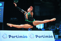 Julie Zetlin of USA performs at 2011 World Cup at Portimao, Portugal on April 29, 2011.