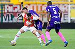 Santa Fe igualó como local 1-1 ante Independiente Medellín. Fecha 9 Liga Águila II-2016.