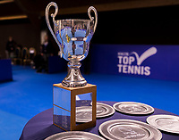 Alphen aan den Rijn, Netherlands, December 16, 2018, Tennispark Nieuwe Sloot, Ned. Loterij NK Tennis, Trophy's<br /> Photo: Tennisimages/Henk Koster