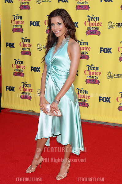 EVA LONGORIA at the 2005 Teen Choice Awards at Universal Amphitheatre, Hollywood..August 14, 2005; Los Angeles, CA:  .© Paul Smith / Featureflash