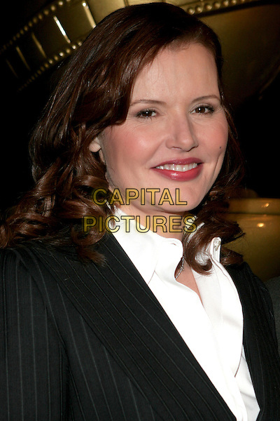 GEENA DAVIS.Announcement of 2006 Cecil B. DeMille Award Recipient and Miss Golden Globe held at the Beverly Hilton Hotel, Beverly Hills, California.  .November 16th, 2005.Photo: Eric Curtis/AdMedia/Capital Pictures.Ref: EC/ADM.headshot portrait.www.capitalpictures.com.sales@capitalpictures.com.© Capital Pictures.