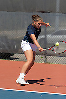 SAN ANTONIO, TX - APRIL 8, 2006: The Nicholls State University Colonels vs. The University of Texas at San Antonio Roadrunners Women's Tennis at the UTSA Tennis Center. (Photo by Jeff Huehn)