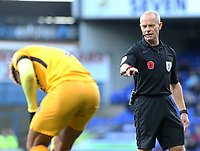 Referee Andy Woolmer in action<br /> <br /> Photographer David Shipman/CameraSport<br /> <br /> The EFL Sky Bet Championship - Ipswich Town v Preston North End - Saturday 3rd November 2018 - Portman Road - Ipswich<br /> <br /> World Copyright &copy; 2018 CameraSport. All rights reserved. 43 Linden Ave. Countesthorpe. Leicester. England. LE8 5PG - Tel: +44 (0) 116 277 4147 - admin@camerasport.com - www.camerasport.com