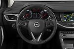 Car pictures of steering wheel view of a 2020 Opel Astra Edition 5 Door Hatchback Steering Wheel