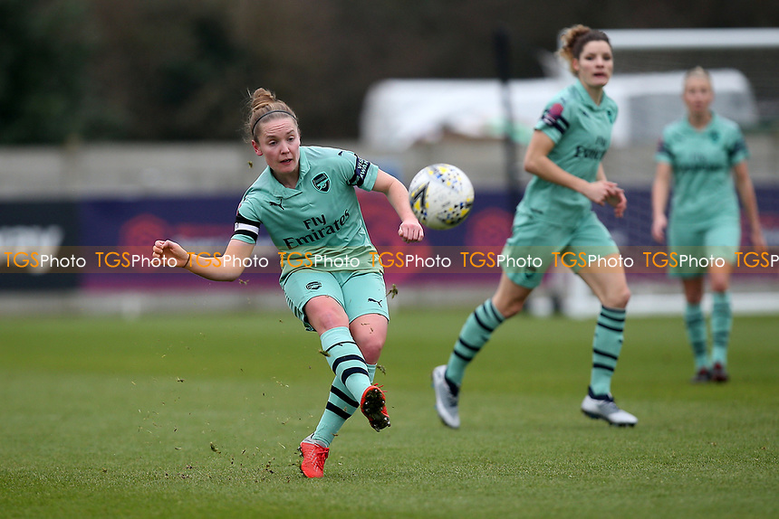 Kim Little of Arsenal during West Ham United Women vs Arsenal Women, FA Women's Super League Football at Rush Green Stadium on 6th January 2019