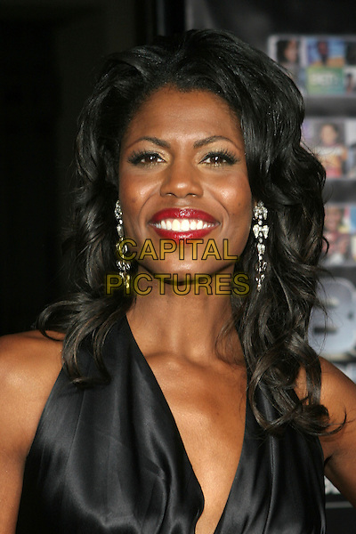 OMAROSA MANIGAULT-STALLWORTH. 25 Strong: The BET Silver 25th Anniversary Special - Press Room held at the Shrine Auditorium, Los Angeles, California..October 26th, 2005.Photo: Zach Lipp/AdMedia/Capital Pictures.headshot portrait red lipstick.www.capitalpictures.com.sales@capitalpictures.com.© Capital Pictures.