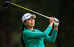 Mi-Jung Hur of Korea in action during the Hyundai China Ladies Open 2014 on December 10 2014 at Mission Hills Shenzhen, in Shenzhen, China. Photo by Xaume Olleros / Power Sport Images