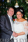 Teresa Warren, daughter of Connie and Sheila, Barraduff, Killarney, and David O'Neill, son of Pat and June, Waterville, who were married on Saturday in the Sacred Heart Church, Barraduff. Fr Niall Howard officiated at the ceremony. Best man was James O'Neill and groomsman was Pat O'Neill. Bridesmaids were Angie Kissane, assisted by Joanna O'Sullivan. Flowergirl was Sarah Warren. Pageboys were Conor Warren and AJ O'Connor. The reception was held in the Brehon Hotel and the couple will reside in Killarney.