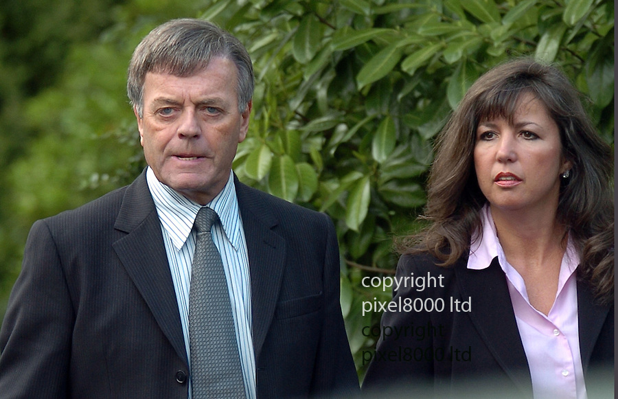 File pic shows: Tony Blackburn and his wife Debbie<br /> <br /> <br /> <br /> <br /> picture by Gavin Rodgers/ Pixel