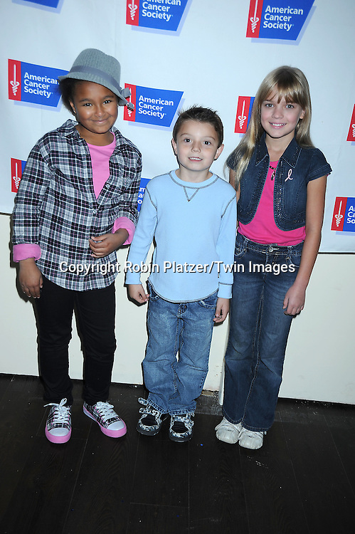 Saoirse Scott, Jason Bastelli and Deanna DeVerstern attending the 7th Annual Daytime Stars and Strikes Bowling Event on October 10, 2010 at Leisure Time Bowling Facility in New York City. The event benefited The American Cancer Society.