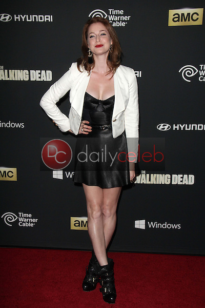 "Esme Bianco<br /> at ""The Walking Dead"" Season Four Premiere, AMC Universal Citywalk Stadium 19,  Universal City, CA 10-03-13<br /> Dave Edwards/DailyCeleb.com 818-249-4998"