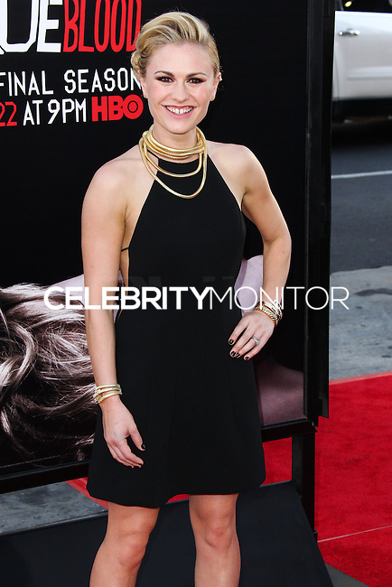 HOLLYWOOD, LOS ANGELES, CA, USA - JUNE 17: Actress Anna Paquin arrives at the Los Angeles Premiere Of HBO's 'True Blood' Season 7 held at the TCL Chinese Theatre on June 17, 2014 in Hollywood, Los Angeles, California, United States. (Photo by Xavier Collin/Celebrity Monitor)