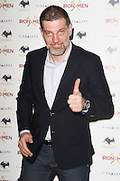 "Slavin Bilic<br /> arrives for the ""Iron Men"" premiere at the Mile End Genesis cinema, London.<br /> <br /> <br /> ©Ash Knotek  D3236  02/03/2017"