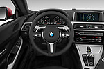 Car pictures of steering wheel view of a 2017 BMW 6-Series-Coupe 650i 3 Door Coupe Steering Wheel