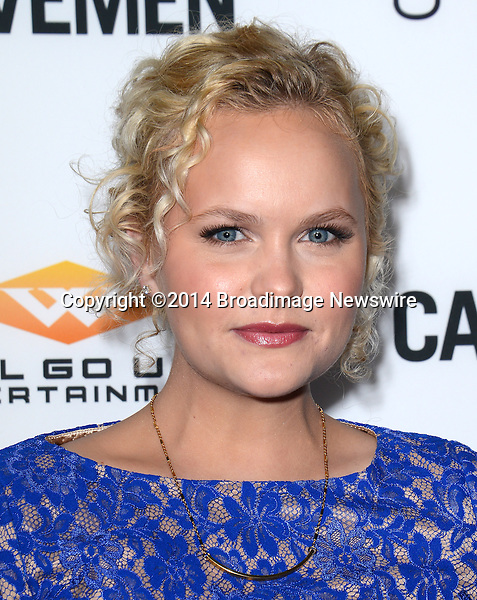 Pictured: Amanda Jane Cooper<br /> Mandatory Credit: Luiz Martinez / Broadimage<br /> CAVEMAN Los Angeles Premiere<br /> <br /> 2/5/14, Hollywood, California, United States of America<br /> Reference: 020514_LMLA_BDG_084<br /> <br /> sales@broadimage.com<br /> Bus: (310) 301-1027<br /> Fax: (646) 827-9134<br /> http://www.broadimage.com