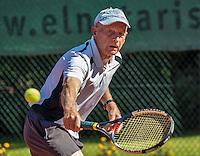 Etten-Leur, The Netherlands, August 23, 2016,  TC Etten, NVK, Theo de Waal (NED) 80+<br /> Photo: Tennisimages/Henk Koster