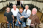 Lunching ' A Tribute to Nora Mai Rochford ' Live in the Marquee BallyDuff at Your Man's Bar, Awarded The second unusual name Bar in Ireland on Sunday 6th August at 8pm. Pictured  l-r Stephan Connolly , Packie Browne, Danny O'Mahony, John Walsh, Michael Rochford