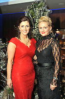 Pictured at the Christmas in Killarney Fashion Show in the Aghadoe Heights Hotel on Thursday night were from left, Marie Chawke and Geraldine O'Neill, Killarney<br /> Picture by Don MacMonagle<br /> <br /> PR Photo from CIK