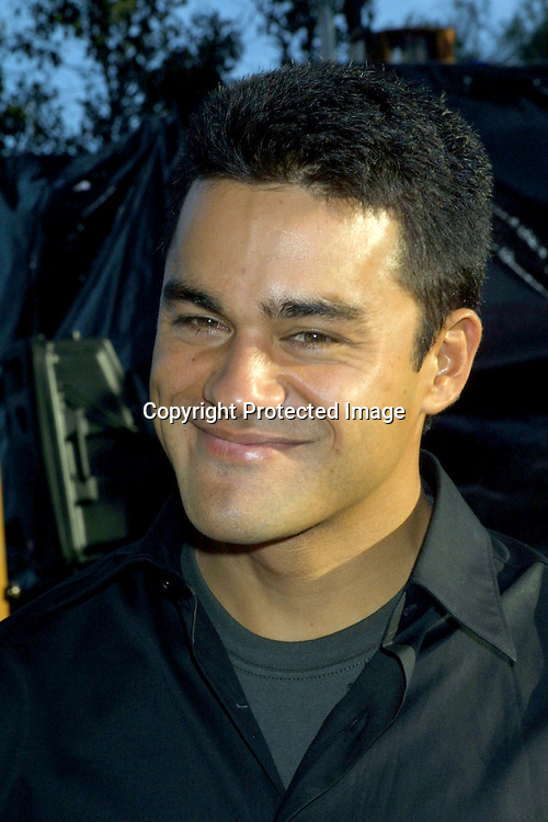 "© 2002 KATHY HUTCHINS / HUTCHINS PHOTO.""BLUE CRUSH"" PREMIERE.UNIVERSAL AMPITHEATER.UNIVERSAL CITY, CA.8/8/02..CHRIS TALOA"