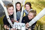 Pierce Leslie, Mireia Sebal, Ava and Abbie Lesie at the Killarney Valley Treasure Hunt in Fossa on Sunday
