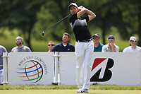 Ross Fisher (ENG) tees off the 3rd tee during Sunday's Final Round of the WGC Bridgestone Invitational 2017 held at Firestone Country Club, Akron, USA. 6th August 2017.<br /> Picture: Eoin Clarke | Golffile<br /> <br /> <br /> All photos usage must carry mandatory copyright credit (&copy; Golffile | Eoin Clarke)