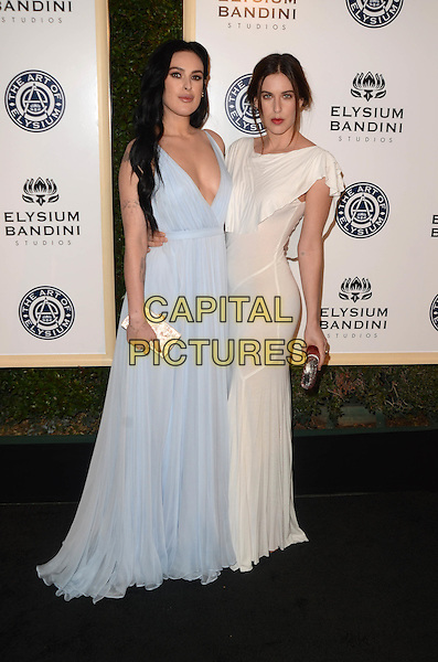 LOS ANGELES, CA - JANUARY 7: Rumer Willis, Scout Willis at the The Art Of Elysium Tenth Annual Celebration 'Heaven' Charity Gala at Red Studios in Los Angeles, California on January 7, 2017. <br /> CAP/MPI/DE<br /> &copy;DE/MPI/Capital Pictures