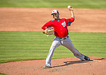 23 February 2013: Washington Nationals pitcher Fernando Abad on the mound during a Spring Training Game against the New York Mets at Tradition Field in Port St. Lucie, Florida. The Mets defeated the Nationals 5-3 in their Grapefruit League Opening Day game. Mandatory Credit: Ed Wolfstein Photo *** RAW (NEF) Image File Available ***