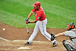 19 June 2011: Washington Nationals' infielder Alex Cora in action against the Baltimore Orioles at Nationals Park in Washington, District of Columbia. The Orioles defeated the Nationals 7-4 in inter-league play, ending Washington's 8-game winning streak. Mandatory Credit: Ed Wolfstein Photo