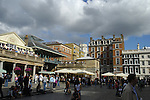 Panoramic View of Covent Garden Piazza, London, England