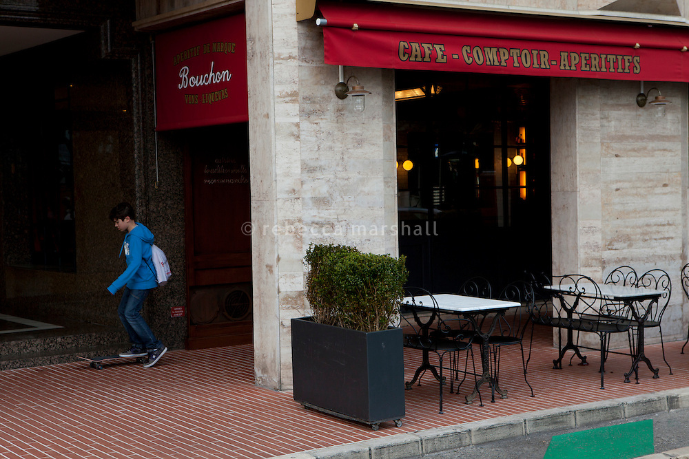 Bouchon restaurant, Monaco, 23 March 2012