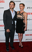 "HOLLYWOOD, LOS ANGELES, CA, USA - FEBRUARY 26: Max Thieriot, Kathleen Robertson at the Premiere Party For A&E's Season 2 Of ""Bates Motel"" & Series Premiere Of ""Those Who Kill"" held at Warwick on February 26, 2014 in Hollywood, Los Angeles, California, United States. (Photo by Xavier Collin/Celebrity Monitor)"