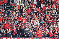 Portland, OR - Saturday August 19, 2017: Thorns Supporters during a regular season National Women's Soccer League (NWSL) match between the Portland Thorns FC and the Houston Dash at Providence Park.