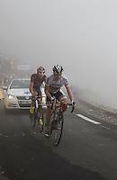 2010 Tour de France, Cadel Evans.Col du Tourmelet