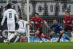 01.12.2019, Borussia Park , Moenchengladbach, GER, 1. FBL,  Borussia Moenchengladbach vs. SC Freiburg,<br />  <br /> DFL regulations prohibit any use of photographs as image sequences and/or quasi-video<br /> <br /> im Bild / picture shows: <br /> Torchance fuer Patrick Herrmann (Gladbach #7),   <br /> <br /> Foto © nordphoto / Meuter